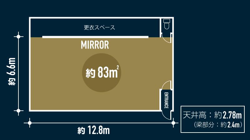 錦糸町スタジオ図面